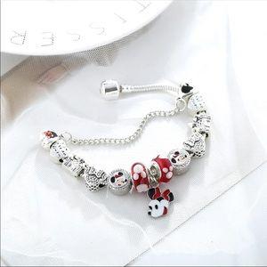 Jewelry - Brand New 16cm Minnie Mouse Charm Bracelet